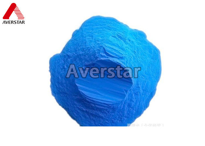 Blue Crystal Powder Chemical Fungicides , Systemic Fungicide For Plants Cupric Hydroxide